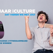 iCulture winactie: FitBit Charge 2