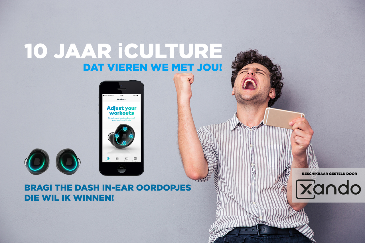 iCulture winactie: Bragi The Dash oordopjes