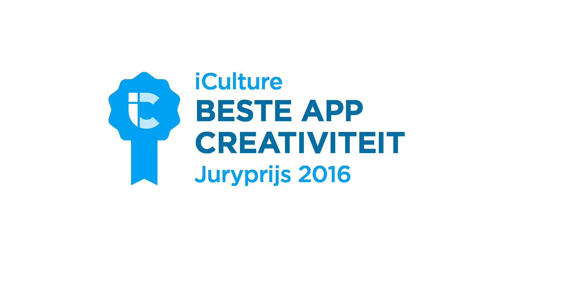 iCulture Beste App Creativiteit 2016
