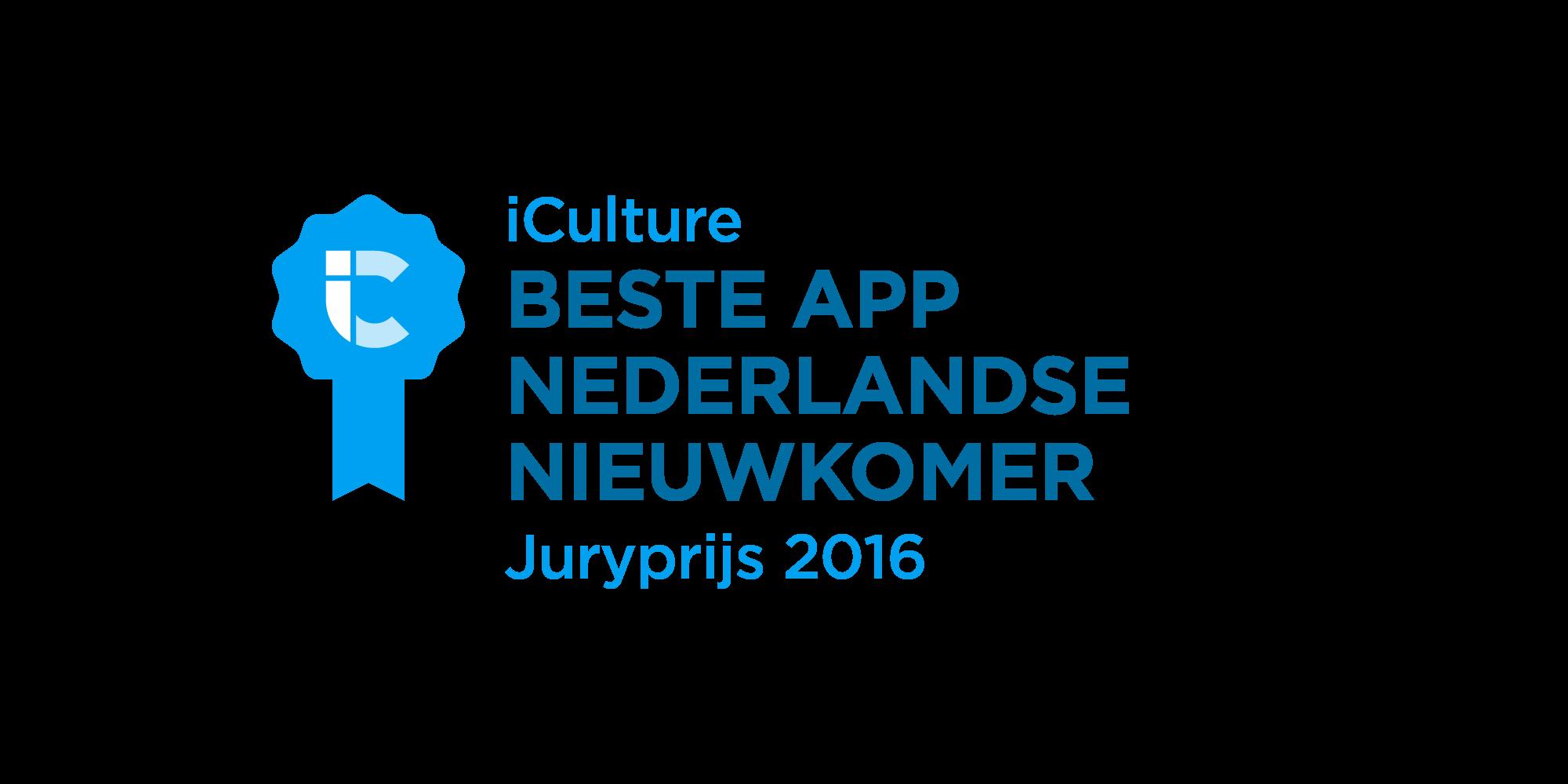 iCulture Beste Nederlandse Nieuwkomer 2016