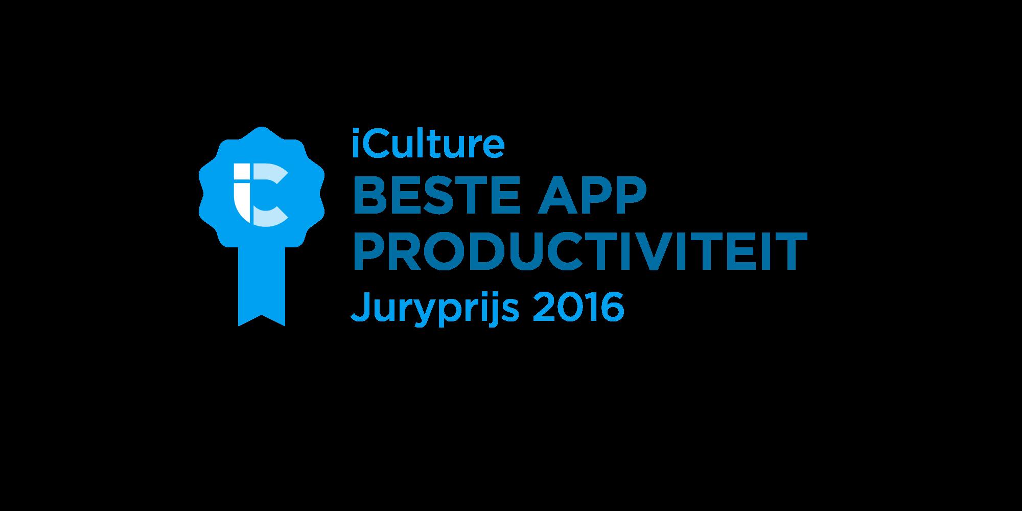 iCulture Beste App Productiviteit 2016
