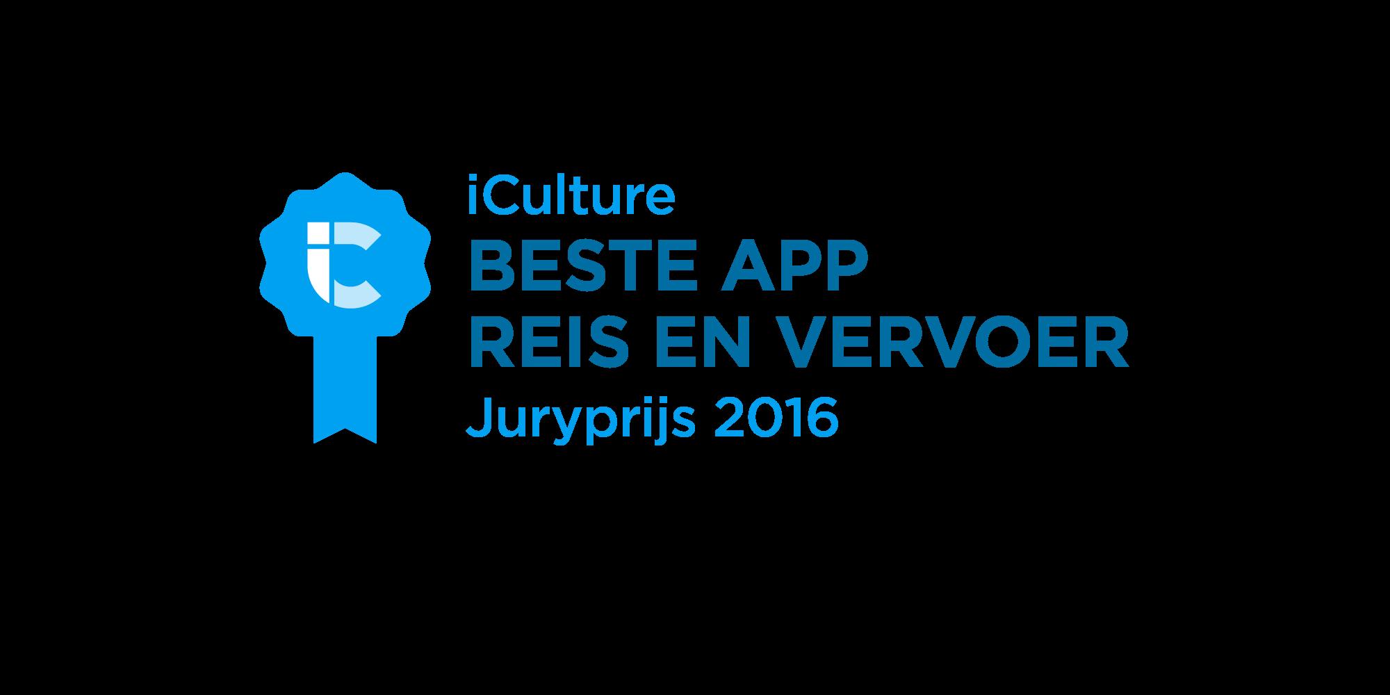 iCulture Beste App Reis en Vervoer 2016