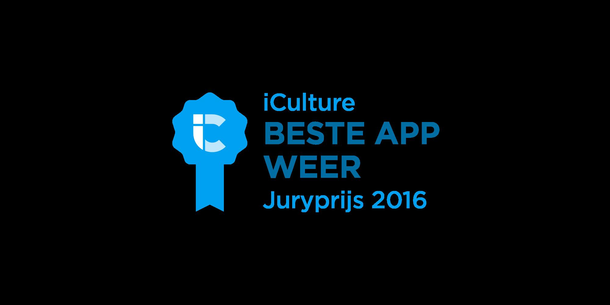 iCulture Beste App Weer 2016
