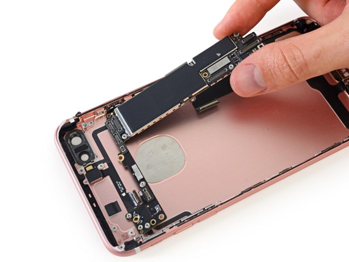Logic board van de iPhone 7 Plus