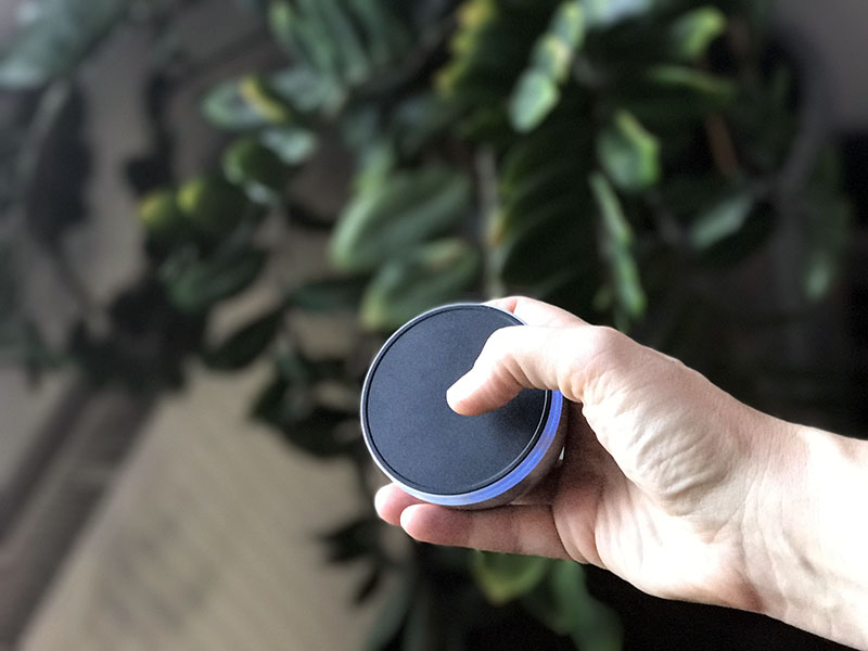 Spin Remote touchpad