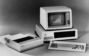 IBM PC in 1981