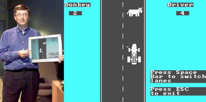Bill Gates met Donkey.bas