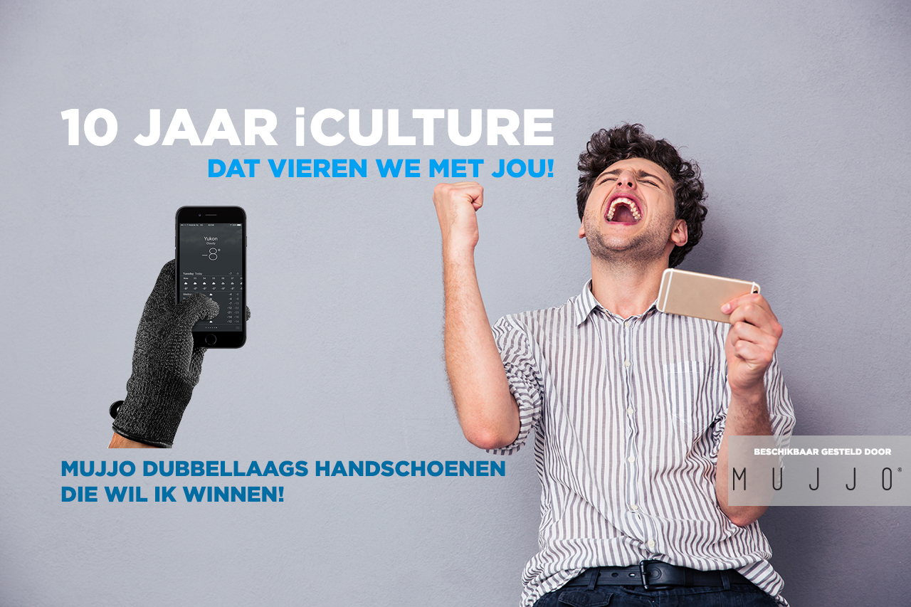 iCulture winactie: Mujjo double layered touchscreen gloves