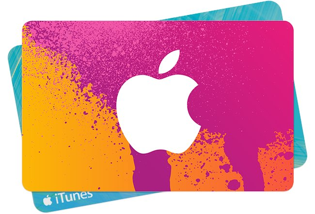 iTunes-kaarten