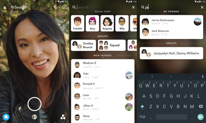 Snapchat krijgt universele zoekfunctie