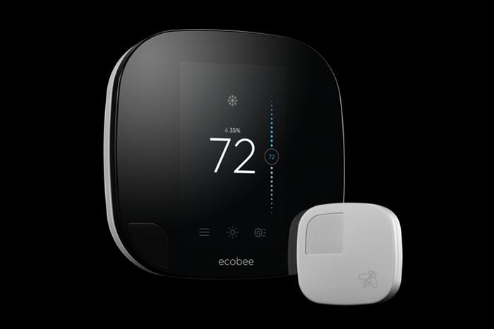 Ecobee3 in zwart