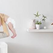 Ecobee 3-sensor in babykamer