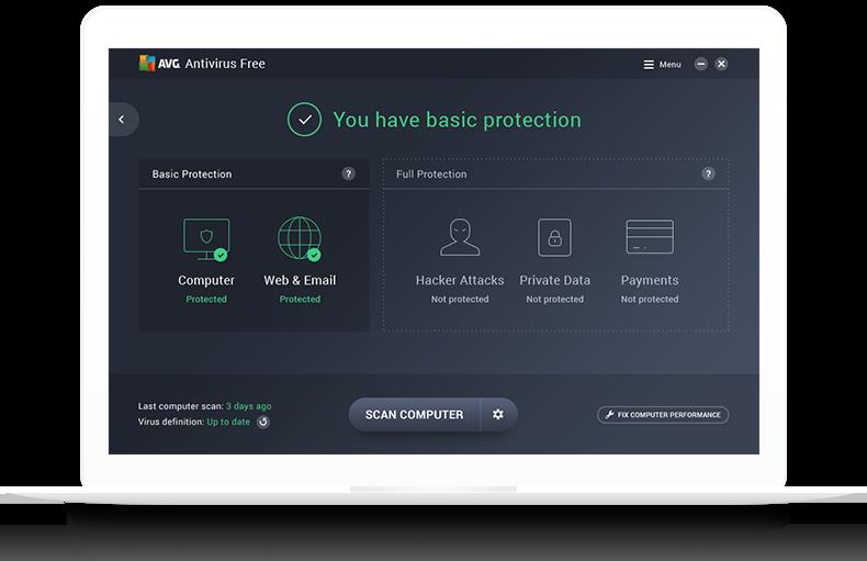 AVG Antivirus voor Mac