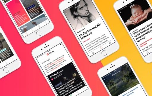 Blendle Premium op de iPhone.
