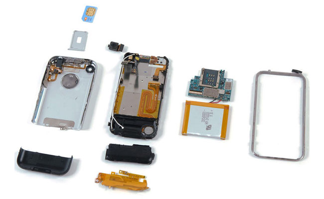 Originele iPhone teardown