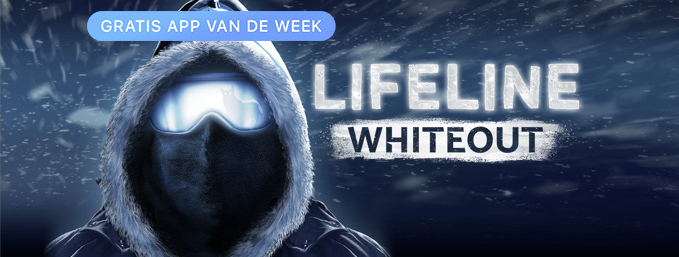 Lifeline: Whiteout voor iPhone, iPad en Apple Watch - gratis App van de Week