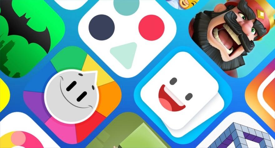 App-icoontjes uit de App Store.