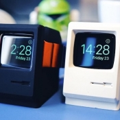 Stop je Apple Watch in een mini-Macintosh