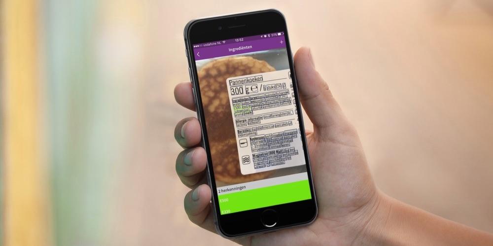 Ekoplaza-ingrediëntenscanner voor E-nummers.