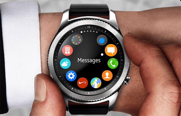 Samsung Gear S3 interface