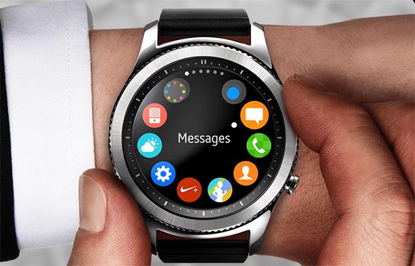 Samsung Gear S3 interface