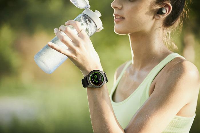 Samsung Gear S3 sportvrouw