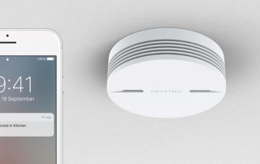 Netatmo Smart Smoke Alarm.