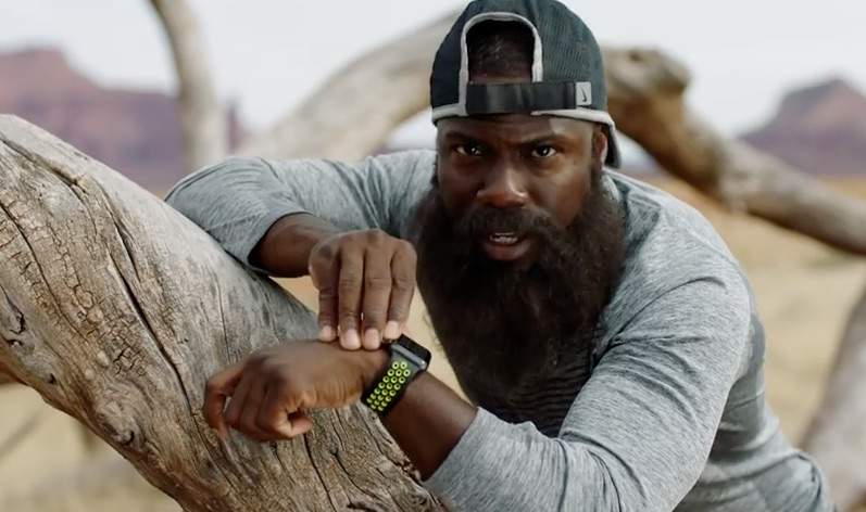 Kevin Hart met de Apple Watch Nike+