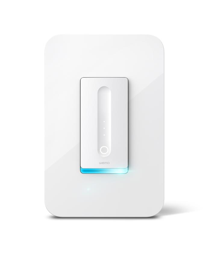 Belkin WeMo Dimmer Switch.