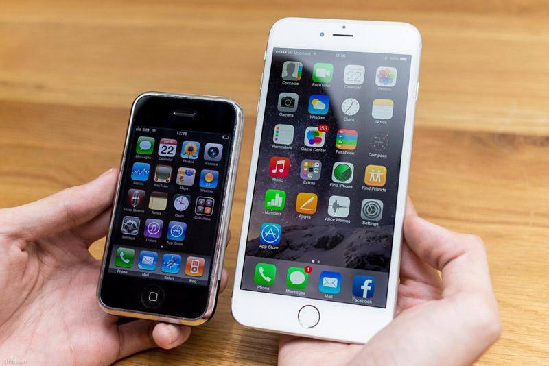 iPhone oud vs nieuw