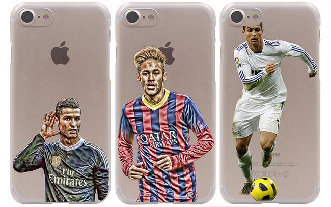 iPhone-hoes met voetballers