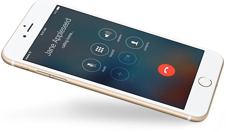 iPhone bellen