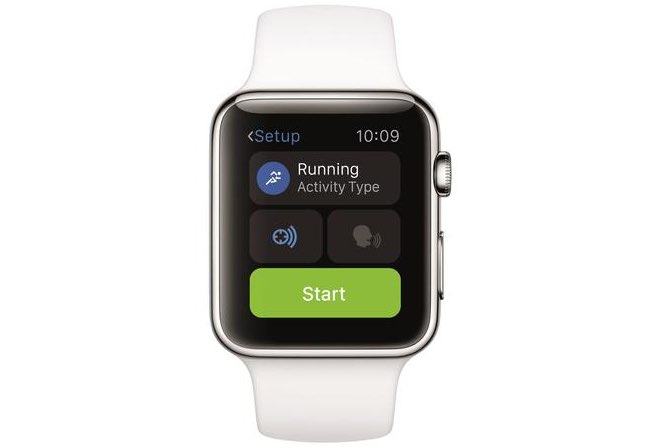 Runtastic voor Apple Watch