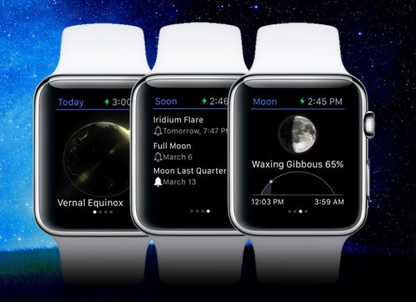 Star Walk voor Apple Watch