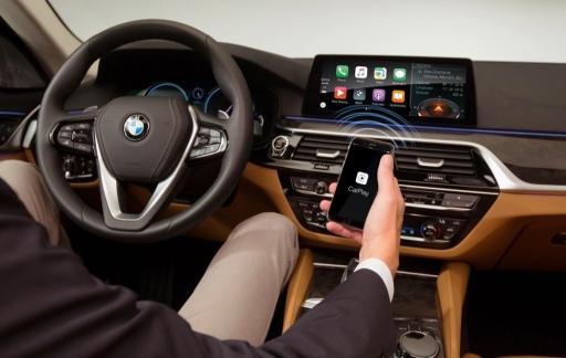 Draadloze CarPlay in BMW dankzij Harman.