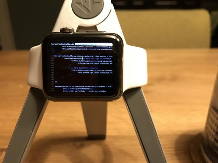 Programmeren op een Apple Watch