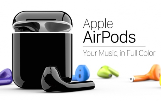 AirPods van ColorWare.