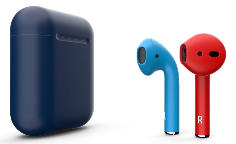 AirPods van ColorWare in mat.