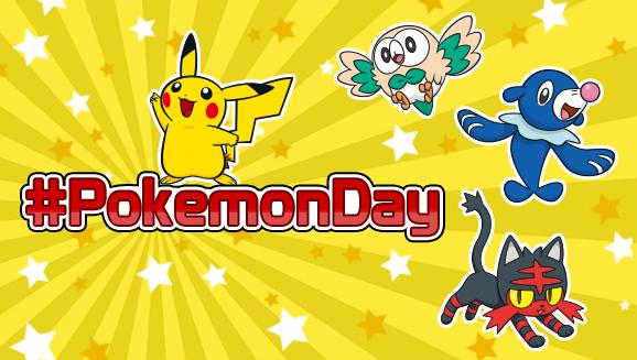 Pokémon Day.
