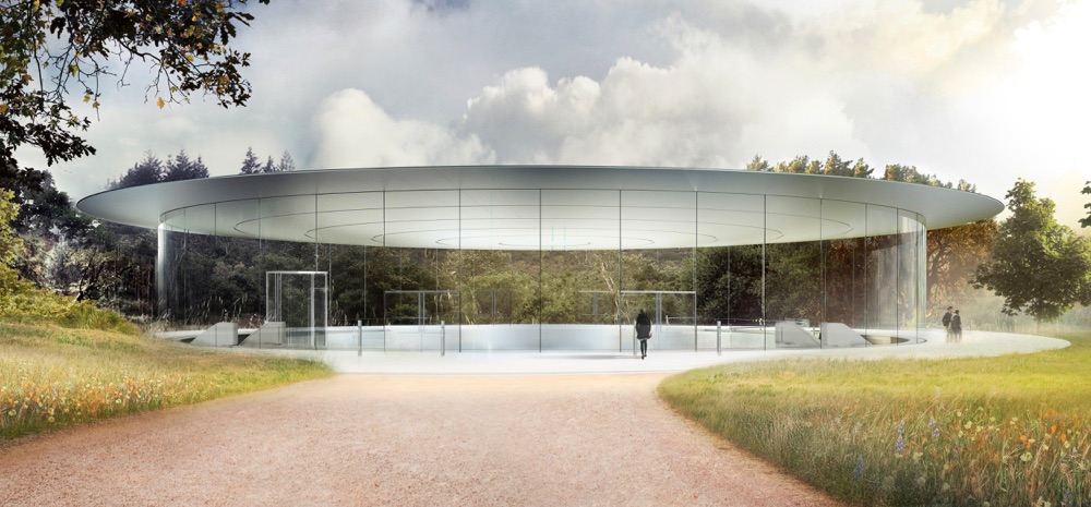 Apple Park Steve Jobs Theater.
