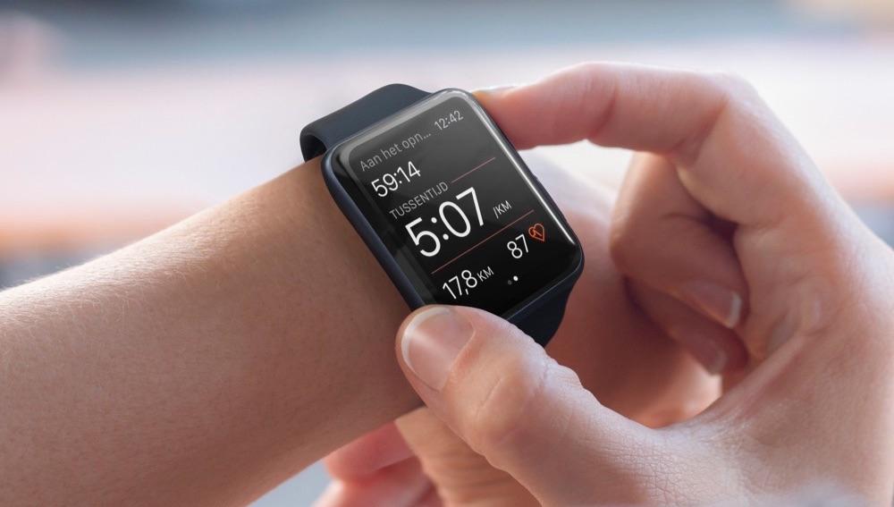 Strava op de Apple Watch.