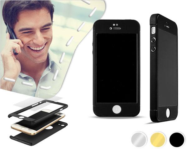 360 graden iPhone case met beschermglas.