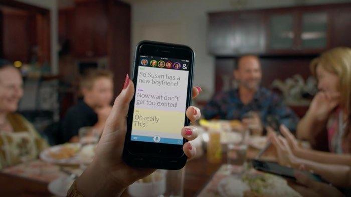 Ava-app ondertiteling van gesprekken