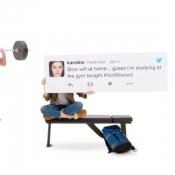 iPad Pro reclame met tweets.