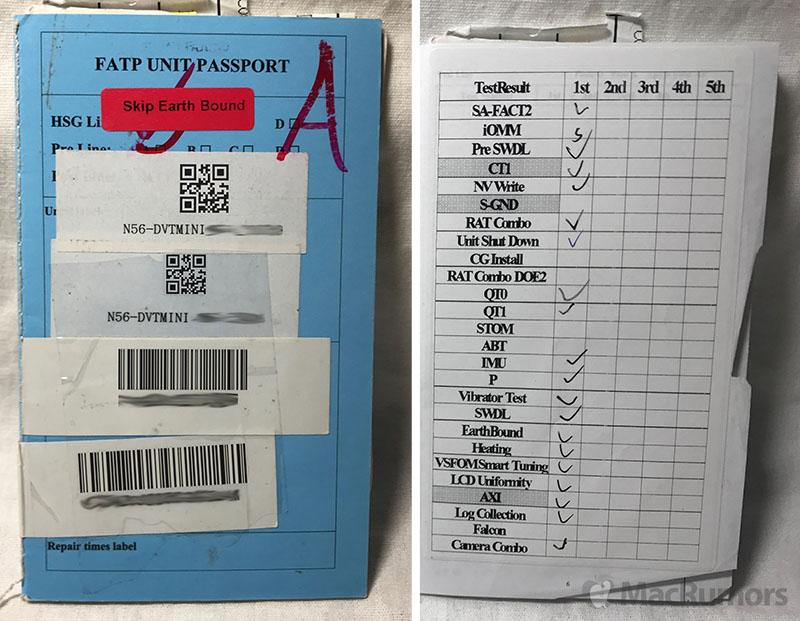 iPhone-prototype paspoort.