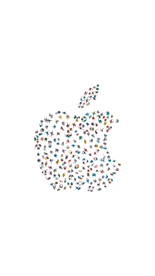 WWDC 2017 wallpaper wit, klein.