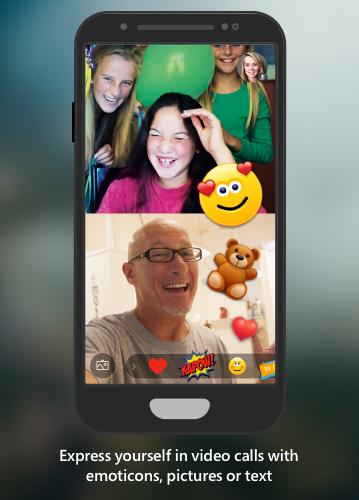 Skype laat je reageren vanuit videogesprekken