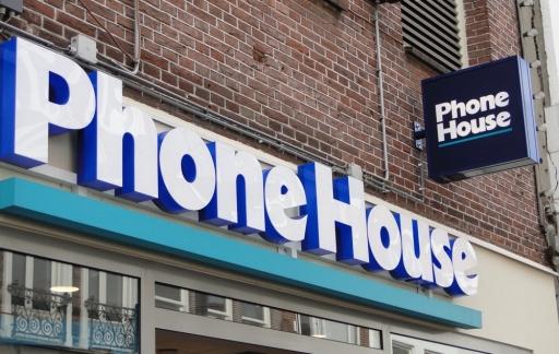 The Phone House-winkel.