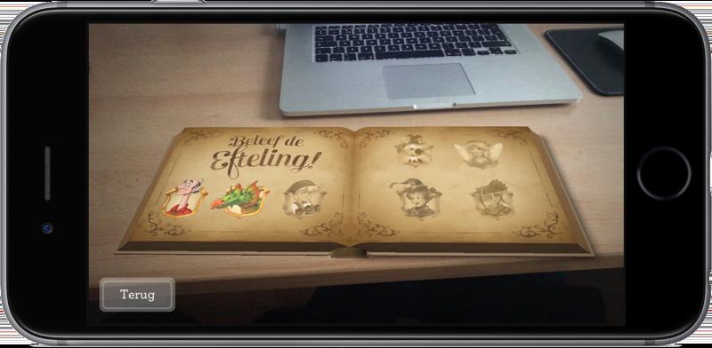 Efteling en Albert Heijn met sprookjes in augmented reality.