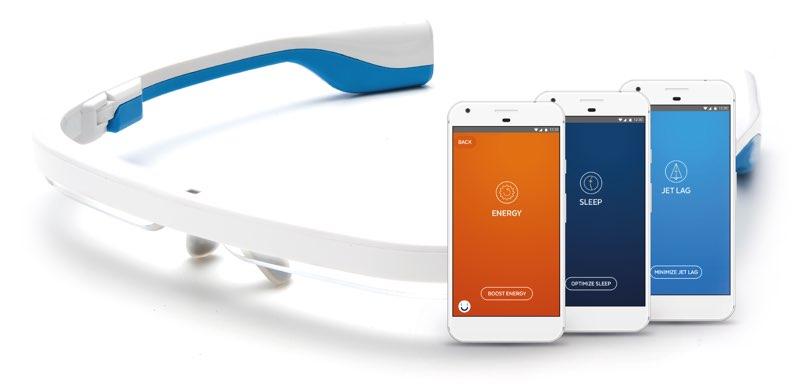 Ayo lichttherapie-bril